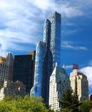 Vue principale d'hôtel de Jw Marriott Essex dans NYC Images stock
