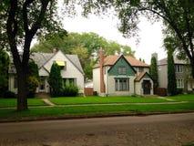 Vue privée de maisons Photo stock