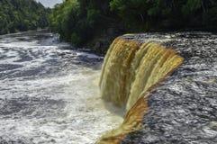 Vue profonde à la rivière images stock
