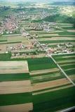 Vue régionale Photo libre de droits