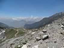 Vue rare de l'Himalaya Images libres de droits