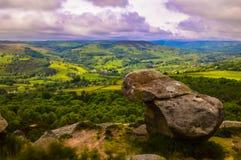 Vue renversante de la vue de surprise, donnant sur le beau paysage du parc national de secteur maximal photo libre de droits