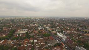 Vue a?rienne Yogyakarta, Indon?sie banque de vidéos