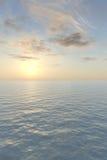 Vue romantique de mer Photographie stock libre de droits