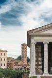 Vue Santa Maria dans le cosmedin Image libre de droits