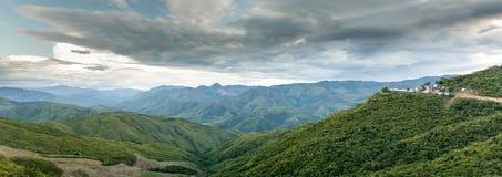 Vue scénique, Chin Stae, Myanmar Photographie stock libre de droits
