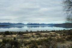 Vue scénique dans le Patagonia Image stock