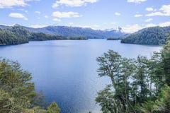 Vue scénique dans le Patagonia Photographie stock
