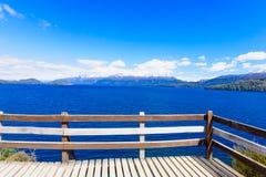 Vue scénique dans le Patagonia Images stock