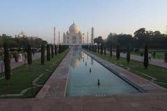 Vue scénique de beau Taj Mahal image stock