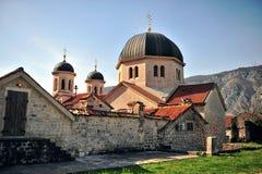 Vue scénique de cathédrale de Kotor Images libres de droits