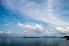 Vue scénique de la mer Photographie stock