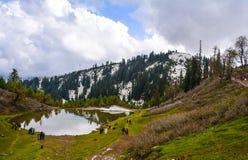 Vue scénique de Siri Paye dans Kaghan Valley, Pakistan Images libres de droits