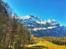 Vue scénique des Alpes Images libres de droits