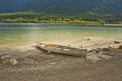 Vue scénique des montagnes et des lacs Image libre de droits
