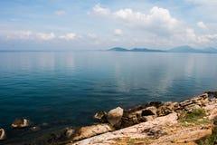 Vue scénique du fond de mer Photos libres de droits