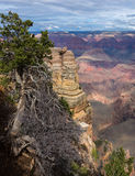 Vue scénique fascinante de paysage stupéfiant en parc national de Grand Canyon, Arizona LES USA Image stock