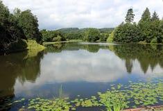 Vue sereine de lac Images libres de droits