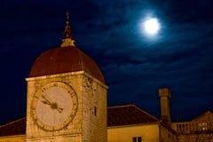 Vue sombre de nuit images stock