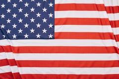 vue supérieure d'Américain plié photos stock