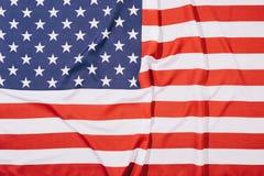 vue supérieure d'Américain plié photos libres de droits