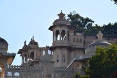 Vue supérieure d'architecture indienne photographie stock libre de droits