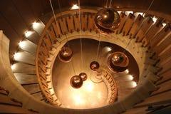 Vue supérieure d'escalier au ` Yquem, France du château d Images libres de droits