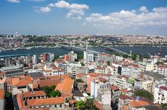 Vue supérieure d'Istanbul photo stock