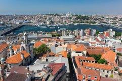 Vue supérieure d'Istanbul photographie stock libre de droits