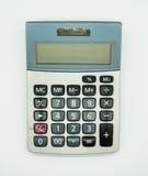 Vue supérieure de calculatrice utilisée Photos stock