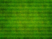 Vue supérieure de champ de sports d'herbe Image stock