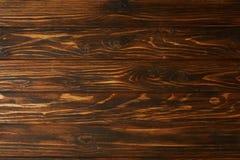 vue supérieure de fond en bois brun avec les planches horizontales photos libres de droits