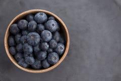 Vue supérieure de fruit de Blureberry Image stock