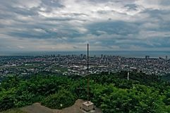 Vue supérieure de Georgia Batumi photographie stock