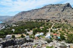 Vue supérieure de la montagne Photographie stock