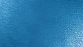 Vue supérieure de la surface de la mer banque de vidéos