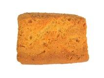 Vue supérieure de pain grillé photographie stock libre de droits