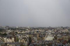 Vue supérieure de Paris Image stock