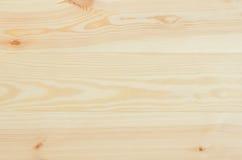 Vue supérieure de pin en bois de fond frais de planches Photo libre de droits