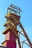 Vue supérieure de puits de mine Image stock