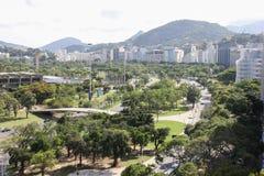 Vue supérieure de Rio de Janeiro Photographie stock libre de droits