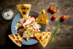 Vue supérieure de salade fraîche Photo libre de droits