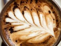 Vue supérieure de temps de café Image libre de droits