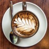 Vue supérieure de temps de café Photographie stock