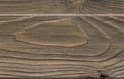 Vue supérieure de vieux fond en bois d'or Photos libres de droits