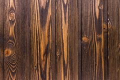 Vue supérieure de vieux de table fond en bois foncé de texture photo libre de droits