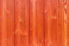 Vue supérieure de vieux de table fond en bois rouge de texture Photographie stock libre de droits