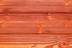 Vue supérieure de vieux de table fond en bois rouge de texture Photographie stock