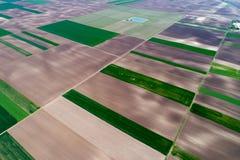 Vue supérieure des colis agricoles Photo libre de droits