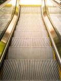 Vue supérieure des escalators Photographie stock libre de droits